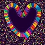 Love speech talk seamless pattern Royalty Free Stock Images