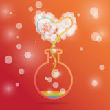 Love spell. Stock Images