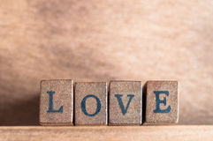 Love Spelled Out Stock Image