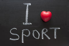Love sport Stock Photo