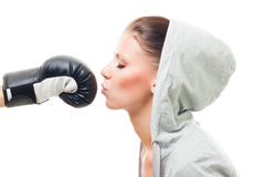 Love sport and fight Royalty Free Stock Photos