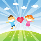 Love Spring stock images