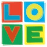 Love in square Stock Photo