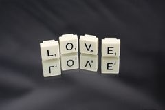 Love squares Royalty Free Stock Photos