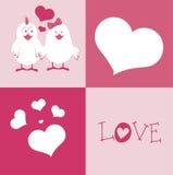 Love squares design Royalty Free Stock Image