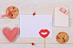 Love , St. valentine's day or Birthday background. Royalty Free Stock Image
