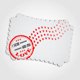 Love Stamp3 Royalty Free Stock Photo
