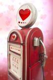 Love station. Valentine day Stock Image