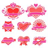 Love Sticker. Easy to edit vector illustration of love sticker vector illustration
