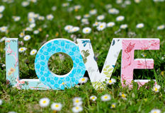 Always love. Still life photography of a love sign Royalty Free Stock Photo