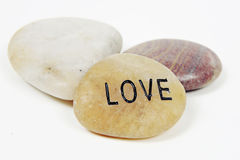 Love Stone Stock Image