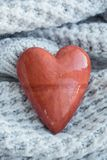 Love stone. Heart shape Royalty Free Stock Images