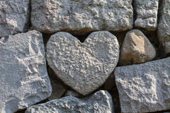 Love stone Royalty Free Stock Photo