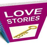 Love Stories Book Gives Tales of Romantic Stock Photography