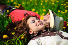 Love story Stock Image