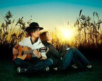 Love story. Royalty Free Stock Photography