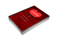 Love story book cover Stock Photo