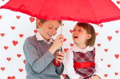 Love story royalty free stock photography