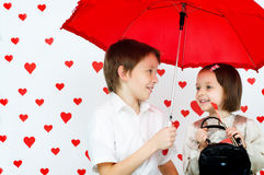 Love story Stock Photography