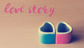 Love Story Concept Royalty Free Stock Photo