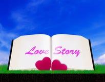 Love Story en Valentine Day Concept Stock Foto's