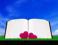 Love Story en Valentine Day Concept Royalty-vrije Stock Afbeeldingen