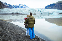 Love Story in Iceland Royalty Free Stock Photography
