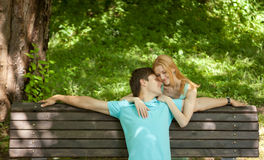 Love story Stock Images