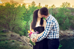 A love story in nature royalty free stock photo