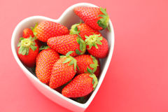 Love strawberry Stock Photo