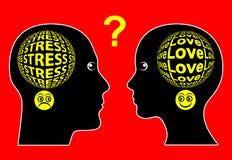 Love and Stress Stock Photos