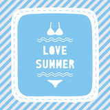 Love summer4 Royalty Free Stock Images