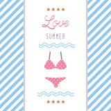 Love summer9 Royalty Free Stock Images