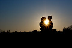 Love and Sun Royalty Free Stock Photography