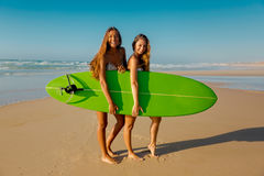 We love surf Stock Image