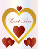 Love Sweet Hearts Stock Images