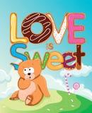 Love is Sweet Stock Image