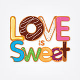 Love is Sweet Royalty Free Stock Photos