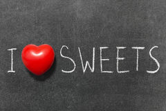 Love sweets Stock Photography