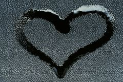 Love symbol in the form of a heart Royalty Free Stock Photography