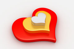 Love symbol, valentine concept Royalty Free Stock Photos