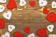 Love symbol valentines day. Texture with hearts close up. Traditional attributes of valentines day. Be my valentine. Lovely background. Valentines day holiday stock images