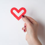 Love symbol Stock Photo