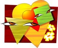 Love symbols Stock Image