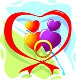 Love symbols Royalty Free Stock Photography