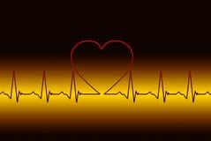 Love symptoms royalty free stock image