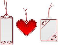Love tags Royalty Free Stock Photo