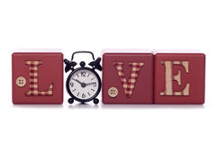 Love takes time Royalty Free Stock Photo