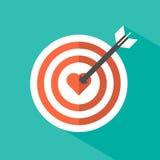 Love target Stock Photos