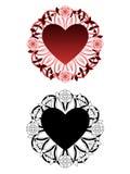 Love tattoo Stock Photography